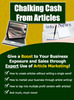 Thumbnail Chalking Cash From Articles - Multiply Your Internet Busines